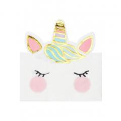 Χαρτοπετσέτες μονόκερος We Love Unicorn 12τεμ