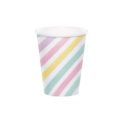 Χάρτινα ποτήρια Unicorn Sparkle 8τεμ