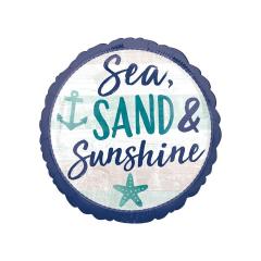 Μπαλόνι Foil Sea Sand & Sunshine 45εκ