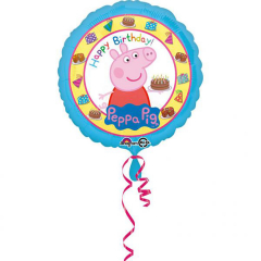 Μπαλόνι Φοιλ Στρογγυλό Peppa Pig Birthday