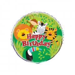 Μπαλόνι φοιλ Jungle Animals 45εκ.