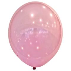 Μπαλόνια λάτεξ crystal droplets magenta