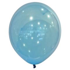 Μπαλόνια λάτεξ crystal droplets μπλε