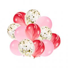 Σετ μπαλόνια λάτεξ ροζ 12τεμ