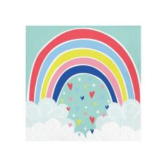 Χαρτοπετσέτες μεγάλες Over the Rainbow 16τεμ