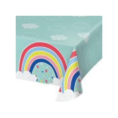 Πλαστικό τραπεζομάντηλο Over the Rainbow