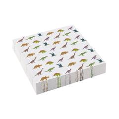 Χαρτοπετσέτες γλυκού Happy Dinosaur 20τεμ 12x12εκ