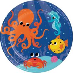 Πιάτα Μεγάλα Ocean Celebration 8τεμ