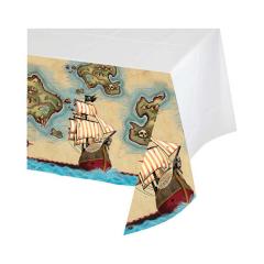 Τραπεζομάντηλο πλαστικό Pirates Map 1τεμ