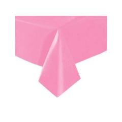 Πλαστικό τραπεζομάντιλο Bright Pink 137x274εκ