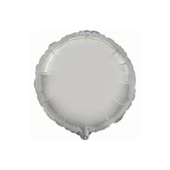 Μπαλόνι Φοιλ Στρογγυλό - Ασημί 81cm