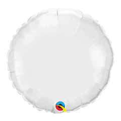 Μπαλόνι Φοιλ Στρογγυλό Λευκό