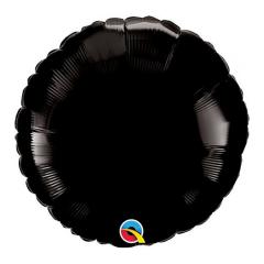 Μπαλόνι Φοιλ Στρογγυλό Μαύρο