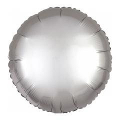 Μπαλόνι Φοιλ Στρογγυλό Platinum