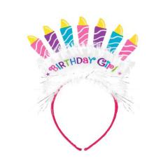 Τιάρα Happy Birthday Girl 11x13εκ