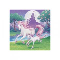 Χαρτοπετσέτες μεγάλες Unicorn Fantasy 16τεμ