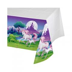 Πλαστικό τραπεζομάντηλο Unicorn Fantasy 140x260εκ