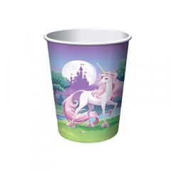 Χάρτινα ποτήρια Unicorn Fantasy 8τεμ