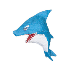 Χάρτινα πινιάτα σε σχήμα καρχαρία 30x53