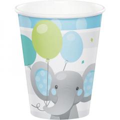 Ποτήρια Enchanting Elephant 266ml 8τεμ