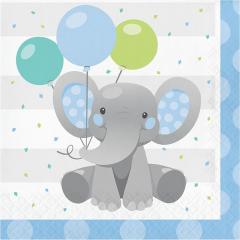 Xαρτοπετσέτες Mεγάλες Enchanting Elephant 16τεμ