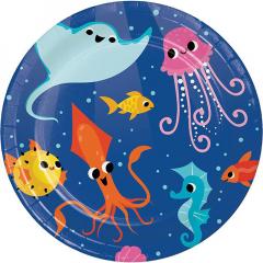 Πιάτα Μικρά Ocean Celebration 8τεμ