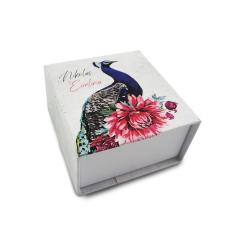 Κουτί μπομπονιέρας συρταρωτό χάρτινο 8x8x5εκ Twenty2Twins
