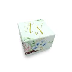 Κουτί μπομπονιέρας 6x6x5εκ Twenty2Twins