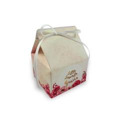 Κουτί μπομπονιέρας milk box τυπωμένο 7x7x10,5εκ Twenty2Twins