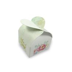 Μπομπονιέρα κουτί καρδιά 7x7x4εκ Twenty2Twins