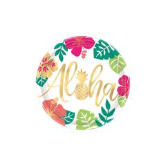 Πιάτα Χάρτινα Aloha-Flamingo-Pineapple (8τεμ)