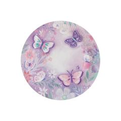 Πιάτα χάρτινα φαγητού  Πεταλούδες