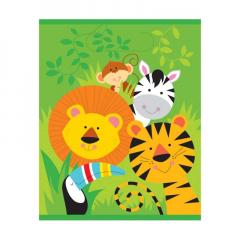 Πλαστική σακούλα δώρων σε θέμα ζωάκια της ζούγκλας