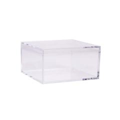 Πλέξιγκλας κουτί με καπάκι 75mm