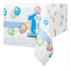 Πλαστικό τραπεζομάντηλο για πρώτα γενέθλια