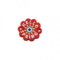 Ακρυλικό λουλούδι Hello Spring 18mm 2τεμ