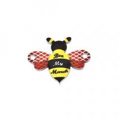 Πλέξι μελισσα Be My March 25x19mm 2τεμ