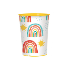 Ποτήρια χάρτινα Rainbow 250ml