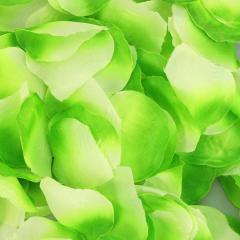 Ροδοπέταλα συνθετικά πράσινα