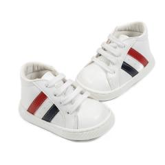 Δετά sneakers με δίχρωμες λωρίδες στο πλάι Babywalker