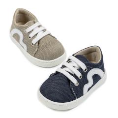 Υφασμάτινα δετά sneaker Babywalker