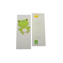 Προσκλητήρια Βάπτισης MyMastoras® – Frog crown
