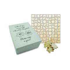 Ευχολόγιο Puzzle ξύλινο 150κομμάτια 48x48εκ Twenty2Twins