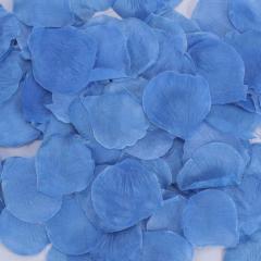 Ροδοπέταλα συνθετικά μπλε