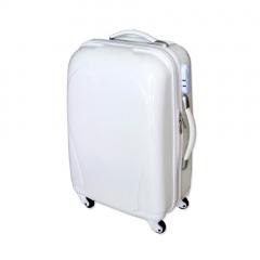 Βαλίτσα τρόλεϊ λευκή
