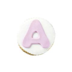Μπισκότο ζαχαρόπαστας σε σχήμα μονόγραμμα αγγλικό κορίτσι