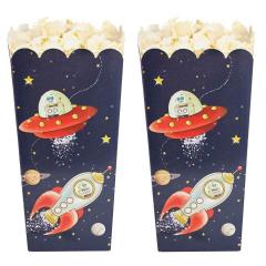 Popcorn/Treat Box με θέμα Space Adventure