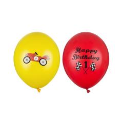 Σετ μπαλόνια αυτοκίνητο Happy Birthday 6τεμ