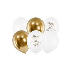 Σετ μπαλόνια Happy Birthday to You 6τεμ