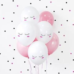 Σετ μπαλόνια Smiley 6 τεμ